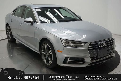 2018_Audi_A4_2.0T Premium+ NAV,CAM,SUNROOF,HTD STS,BLIND SPOT_ Plano TX