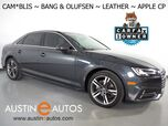 2018 Audi A4 2.0T Ultra Premium Plus *BLIND SPOT ALERT, BACKUP-CAMERA, BANG & OLUFSEN, MOONROOF, LEATHER, HEATED SEATS, ADVANCED KEY, BLUETOOTH PHONE & AUDIO, APPLE CARPLAY