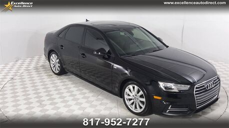 2018_Audi_A4_2.0T ultra Premium PADDLE SHIFTER,SUNROOF,BCK-CAM,BLUETOOTH.._ Euless TX