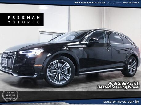 2018_Audi_A4 Allroad_Quattro Premium Plus Side Assist Climate Front Seats_ Portland OR