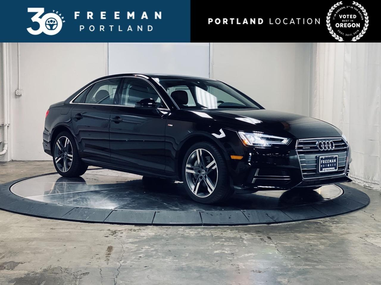 2018 Audi A4 Premium Plus Virtual Cockpit Bang & Olufsen Sound Portland OR
