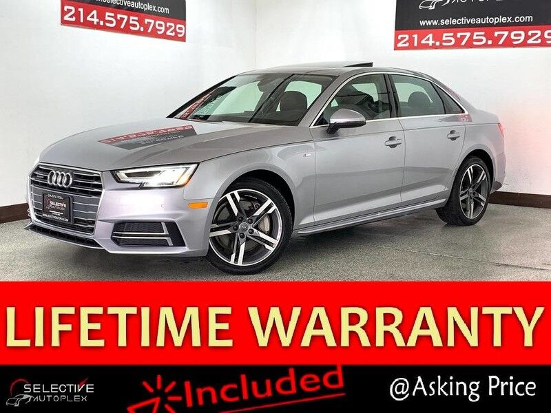 2018 Audi A4 Premium Plus,Nav,Backup Camera,Blind Spot,SunRoofHeated Seats Carrollton TX