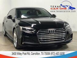 2018_Audi_A5_2.0T PRESTIGE QUATTRO S LINE SPORT PKG NAVIGATION HEADUP DISPLAY BANG & OLUFSEN_ Carrollton TX