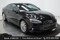 Audi A5 2.0T Premium NAV,CAM,SUNROOF,HTD STS,HID LIGHTS 2018