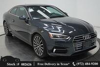 Audi A5 2.0T Premium Plus NAV,CAM,SUNROOF,HTD STS,19IN WLS 2018