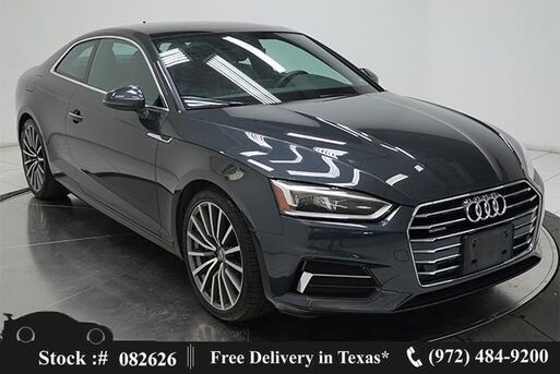 2018_Audi_A5_2.0T Premium Plus NAV,CAM,SUNROOF,HTD STS,19IN WLS_ Plano TX