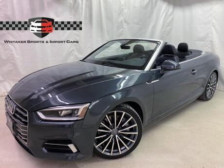2018 Audi A5 Cabriolet 2.0T Premium Plus Luxury Navi Bang & Olufsen 19 Wheels