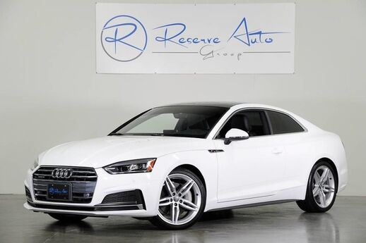 2018 Audi A5 Coupe Premium Plus B&O Audio Navigation S-Line We Finance The Colony TX