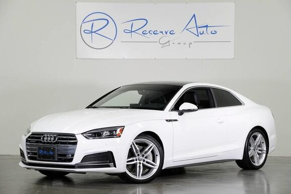 2018_Audi_A5 Coupe_Premium Plus B&O Audio Navigation S-Line We Finance_ The Colony TX