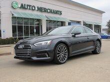 2018_Audi_A5_Premium Plus Coupe quattro 7A,PremiumPlus package,Bang&Olufsen sound,NavigationPackage,Back-Upcamera_ Plano TX