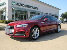 2018_Audi_A5_Premium S-Line Sportback quattro APPLE CAR PLAY, BACKUP CAMERA, POWER TRUNKLID, PANORAMIC SUNROOF,_ Plano TX