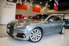 2018 Audi A5 Sportback Premium Navigation And Telematic Package Convenience Package Heated Front seats 1 Owner