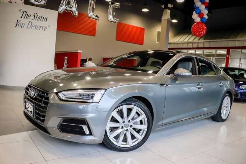 2018 Audi A5 Sportback Premium Navigation And Telematic Package Convenience Package Heated Front seats 1 Owner Springfield NJ