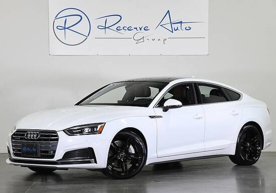 2018_Audi_A5 Sportback_Premium Plus Nav B&O Sound S-Line Cold Wthr_ The Colony TX