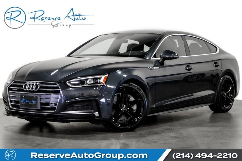 2018 Audi A5 Sportback Premium Plus S-Line Navigation BlackOut Pkg The Colony TX