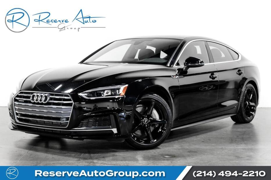 2018_Audi_A5 Sportback_Premium Plus S-Line Navigation Blind Spot Monitor_ The Colony TX