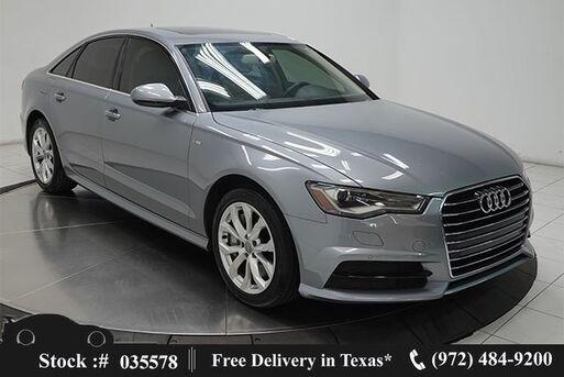 2018_Audi_A6_2.0T Premium NAV,CAM,SUNROOF,HTS STS,PARK ASST_ Plano TX