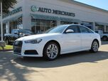 2018 Audi A6 2.0T Premium*BACK UP CAMERA,NAVIGATION,REAR PARKING AID,BLUETOOTH,UNDER FACTORY WARRANTY!