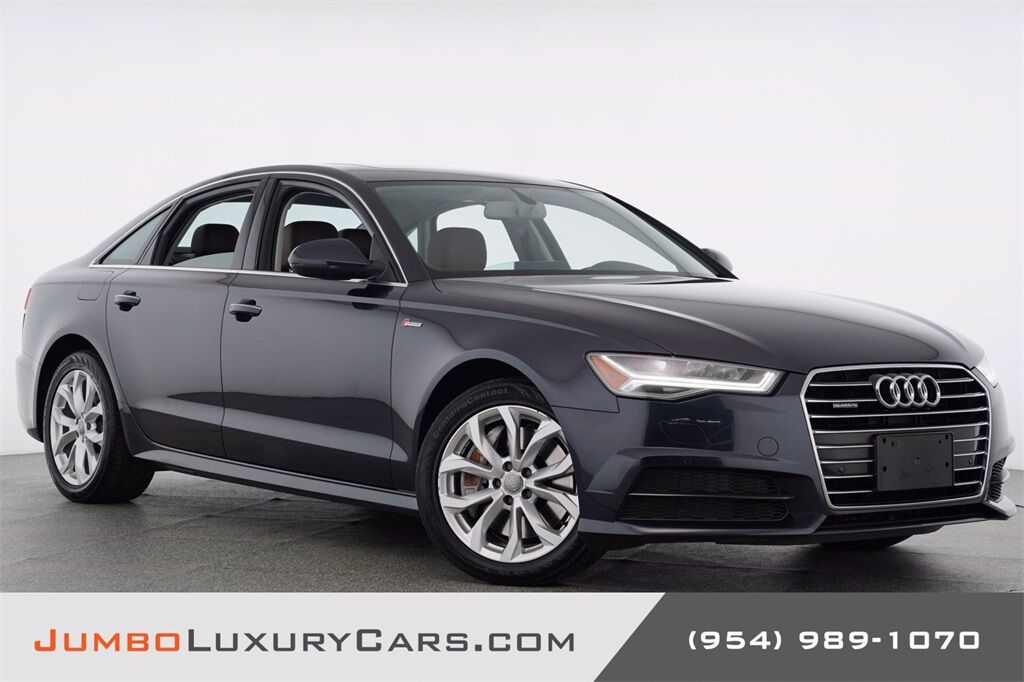 2018 Audi A6 3.0T Premium Plus Hollywood FL