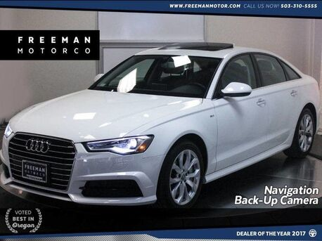 2018_Audi_A6_Premium 2.0T Back-Up Camera Nav Heated Seats_ Portland OR