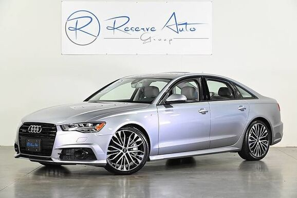 2018_Audi_A6_Premium Plus 20 Black Optic Pkg S-Line Sport Pkg_ The Colony TX