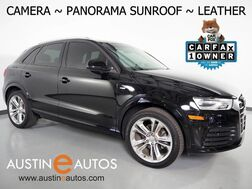 2018_Audi_Q3 2.0T Premium_*BACKUP-CAMERA, PANORAMA MOONROOF, LEATHER, HEATED SEATS, POWER TAILGATE, ADVANCED KEY, BLUETOOTH PHONE & AUDIO_ Round Rock TX