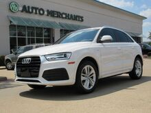 2018_Audi_Q3_Premium LEATHER, PANORAMIC SUNROOF, BACKUP CAM, HTD FRONT STS, KEYLESS START, UNDER FACTORY WARRANTY_ Plano TX