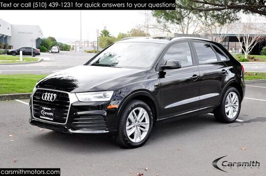 2018 Audi Q3 Premium Like New! AWD, S-Line Appearance Package & More! Fremont CA