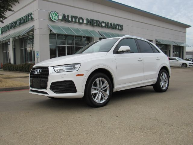2018 Audi Q3 Premium NAVIGATION, POWER LIFT GATE, PUSH START BUTTON, LEATHER, BACKUP CAMERA Plano TX