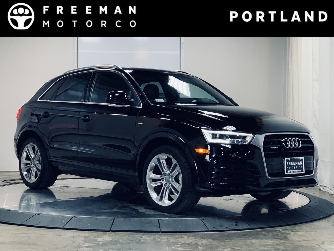 2018 Audi Q3 Premium Plus Sport Pkg NAV Blind Spot Assist Portland OR