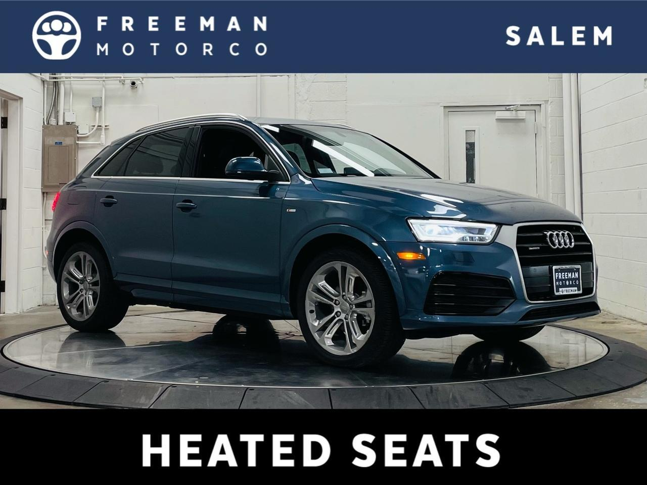 2018 Audi Q3 quattro Sport Package Side Assist Full LED Headlights Salem OR