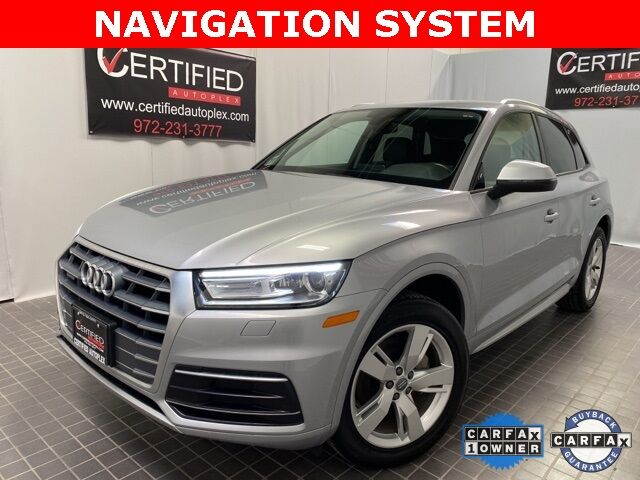2018 Audi Q5 2.0T PREMIUM QUATTRO NAVIGATION REAR CAMERA Dallas TX