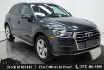 Audi Q5 2.0T Premium CAM,PANO,HTD STS,19IN WHLS,HID LIGHTS 2018