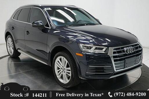 2018_Audi_Q5_2.0T Premium Plus NAV,CAM,PANO,CLMT STS,BLIND SPOT_ Plano TX
