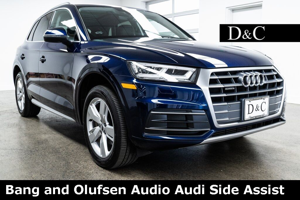 2018 Audi Q5 2.0T Premium Plus quattro Bang and Olufsen Audio Audi Side Assist Portland OR