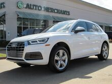 2018_Audi_Q5_2.0T Premium Plus quattro LEATHER, NAVIGATION, PREMIUM STEREO, PANORAMIC SUNROOF, UNDER WARRANTY_ Plano TX