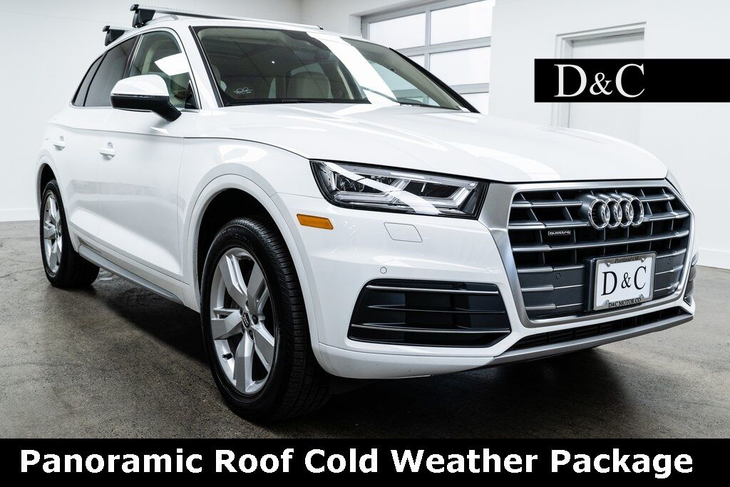 2018 Audi Q5 2.0T Premium Plus quattro Panoramic Roof Cold Weather Package Portland OR