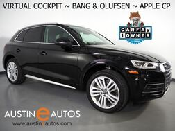 2018_Audi_Q5 2.0T Quattro Premium Plus_*VIRTUAL COCKPIT, NAVIGATION, SIDE ASSIST, PRE-SENSE, BACKUP-CAMERA, PANORAMA MOONROOF, LEATHER, CLIMATE SEATS, BANG & OLUFSEN, 20 INCH WHEELS, APPLE CARPLAY_ Round Rock TX