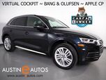 2018 Audi Q5 2.0T Quattro Premium Plus *VIRTUAL COCKPIT, NAVIGATION, SIDE ASSIST, PRE-SENSE, BACKUP-CAMERA, PANORAMA MOONROOF, LEATHER, CLIMATE SEATS, BANG & OLUFSEN, 20 INCH WHEELS, APPLE CARPLAY