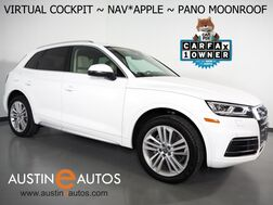 2018_Audi_Q5 2.0T Quattro Premium Plus_*VIRTUAL COCKPIT, NAVIGATION, SIDE ASSIST, PRE-SENSE, BACKUP-CAMERA, PANORAMA MOONROOF, LEATHER, HEATED SEATS, BANG & OLUFSEN, 20 INCH WHEELS, APPLE CARPLAY_ Round Rock TX
