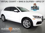2018 Audi Q5 2.0T Quattro Premium Plus *VIRTUAL COCKPIT, NAVIGATION, SIDE ASSIST, PRE-SENSE, BACKUP-CAMERA, PANORAMA MOONROOF, LEATHER, HEATED SEATS/STEERING WHEEL, BANG & OLUFSEN, 20 INCH WHEELS, APPLE CARPLAY
