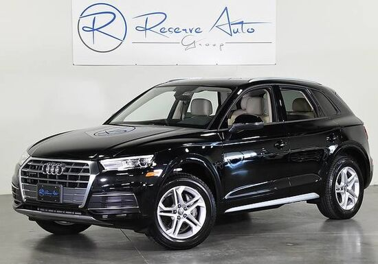 2018_Audi_Q5_Premium Navigation/Virtual Cockpit Comfort Pkg We Finance_ The Colony TX