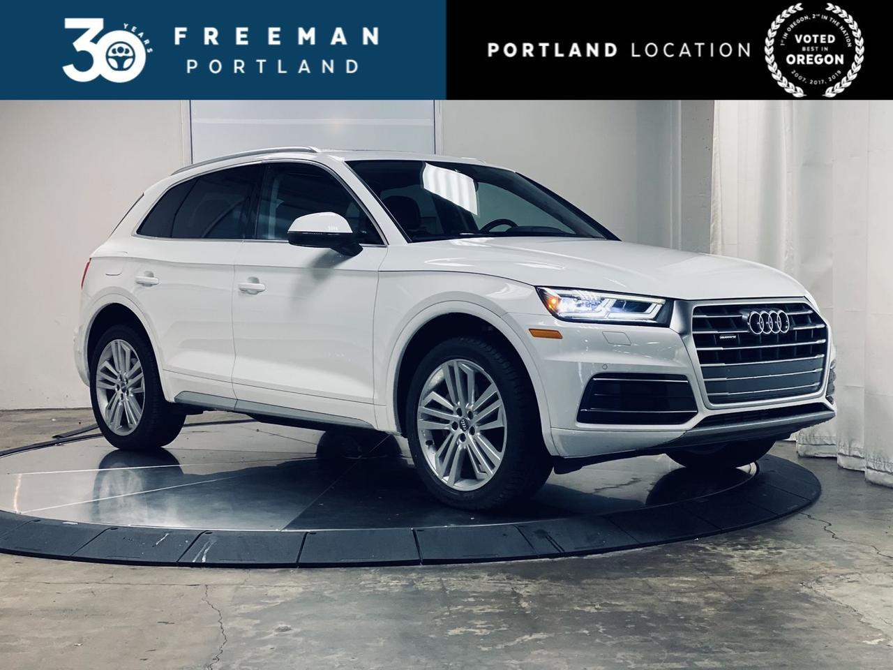 2018 Audi Q5 Premium Plus Heated & Cooled Front Seats Virtual Cockpit Portland OR