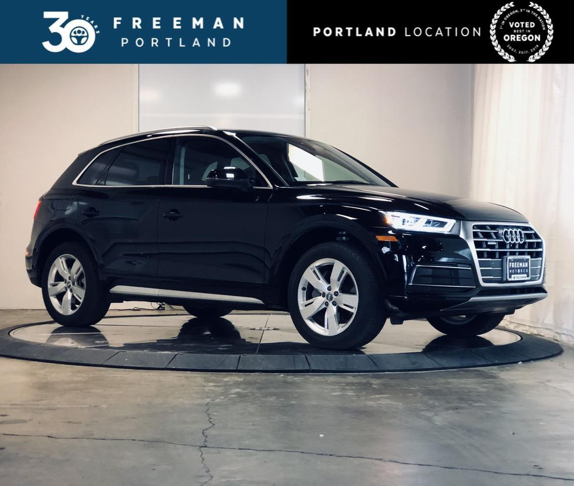 2018 Audi Q5 Premium Plus Heated & Cooled Seats Pano Roof Portland OR