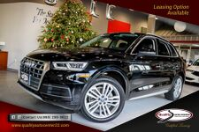 2018 Audi Q5 Premium Plus Package Navigation 20 inch Wheels Bang Olufsen Cold weather Package 1 Owner