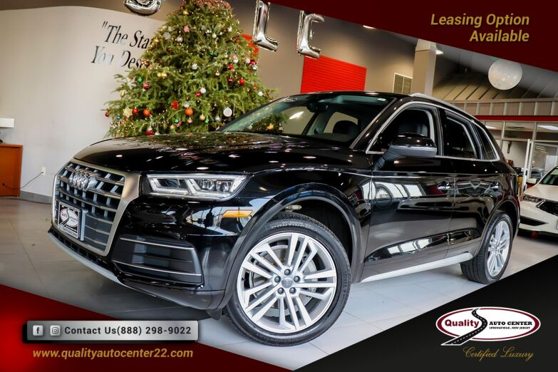 2018 Audi Q5 Premium Plus Package Navigation 20 inch Wheels Bang Olufsen Cold weather Package 1 Owner Springfield NJ