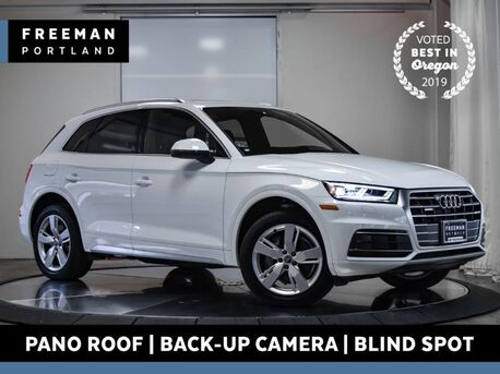 2018_Audi_Q5_Premium Plus quatrro Back-Up Cam Htd Seats Pano_ Portland OR