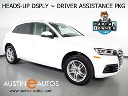 2018_Audi_Q5 Quattro 2.0T Prestige_*HEADS-UP DISPLAY, VIRTUAL COCKPIT, DRIVER ASSISTANCE PKG, NAVIGATION, REAR/TOP CAMERAS, SIDE ASSIST, AUDI PRE SENSE, PANORAMA ROOF, CLIMATE SEATS, BANG & OLUFSEN_ Round Rock TX