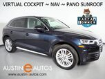 2018 Audi Q5 Quattro 2.0T Tech Premium Plus *VIRTUAL COCKPIT, NAVIGATION, SIDE ASSIST, BACKUP-CAM, PRE-SENSE, PANORAMA MOONROOF, HEATED & COOLED SEATS, 20 INCH WHEELS