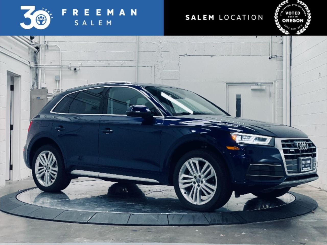 2018 Audi Q5 quattro Premium Plus Virtual Cockpit LED Headlights Salem OR